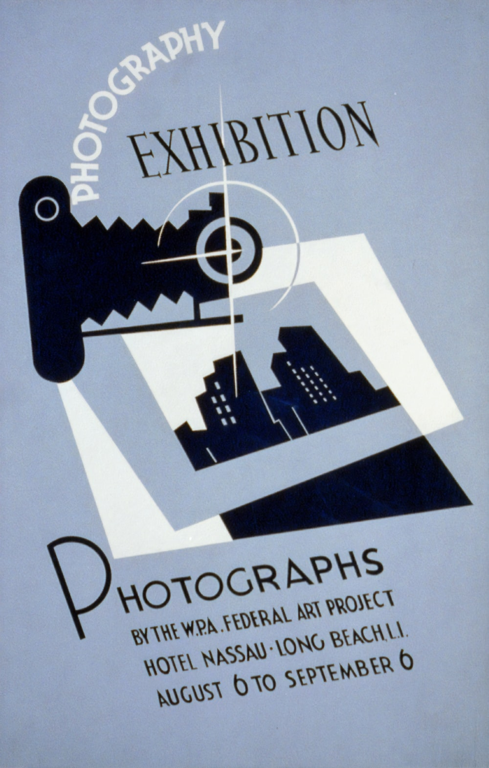 Photography exhibition Photographs by the W.P.A. poster