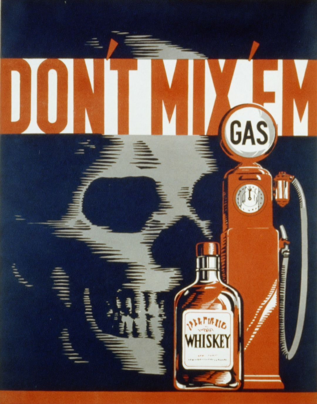 Don't mix 'em. Poster by artist Robert Lachenmann, for the Pennsylvania: WPA Federal Art Project, [1936 and 1940]. From the Work Projects Administration Poster Collection. Library of Congress Prints & Photographs Division.   https://www.loc.gov/item/93511155/