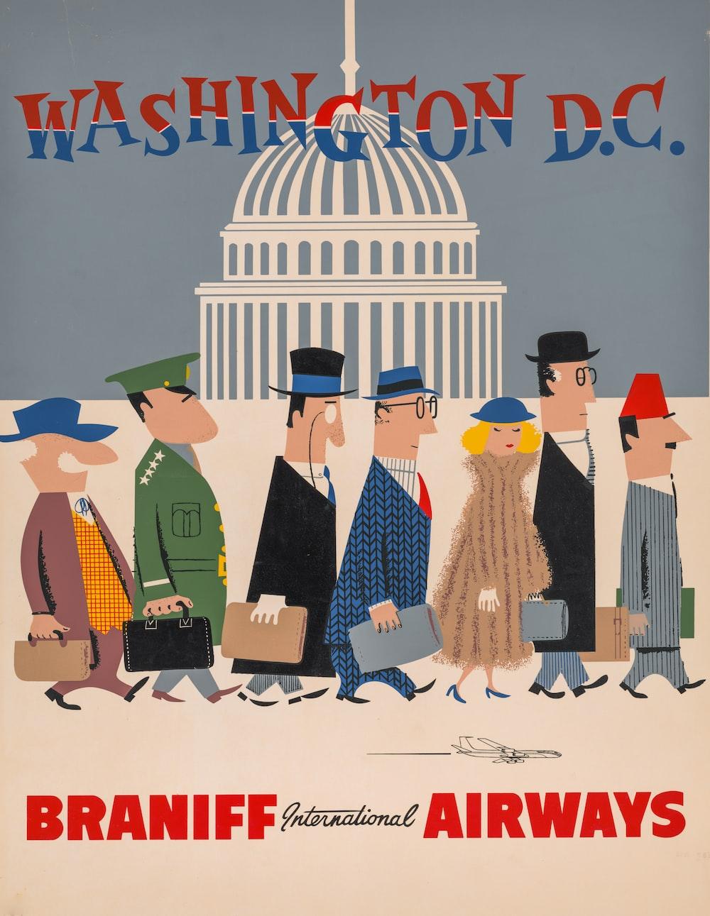 Washington, D.C. - Braniff International Airways