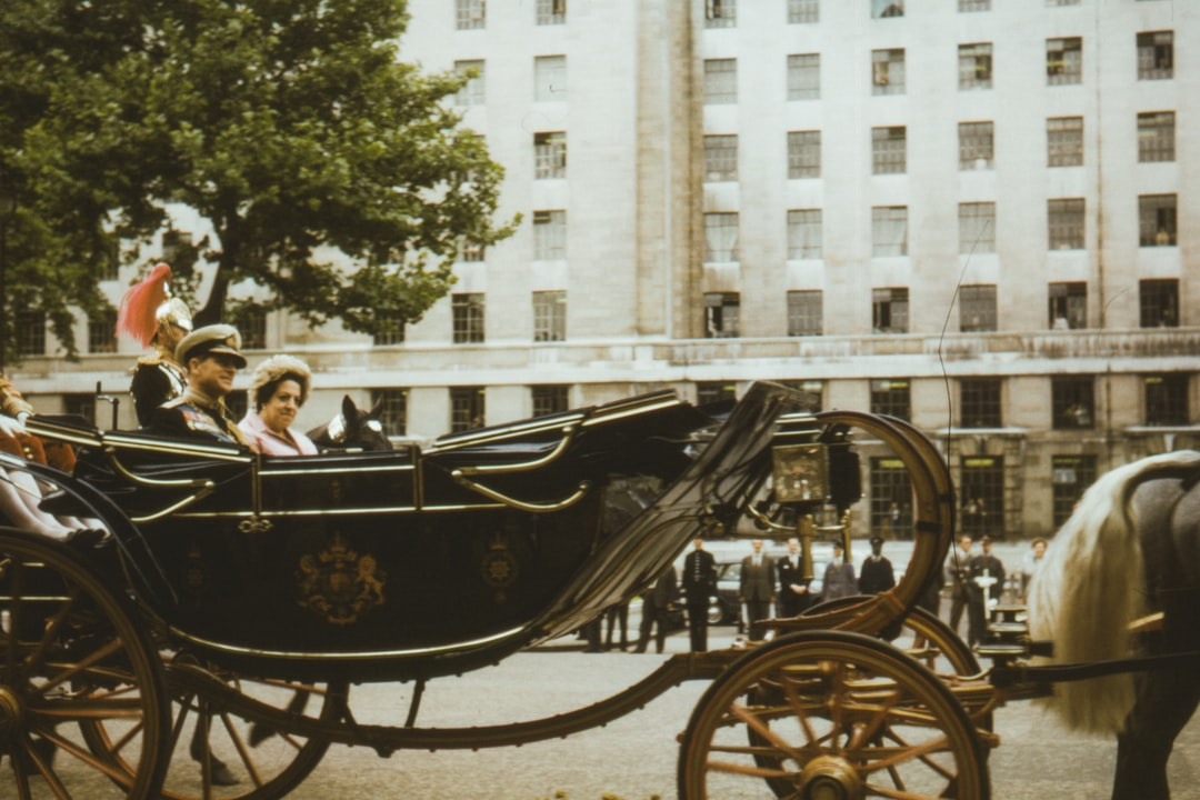 1965, Duke of Edinburgh sits in a carriage during the Opening of Parliament, Queens royal procession