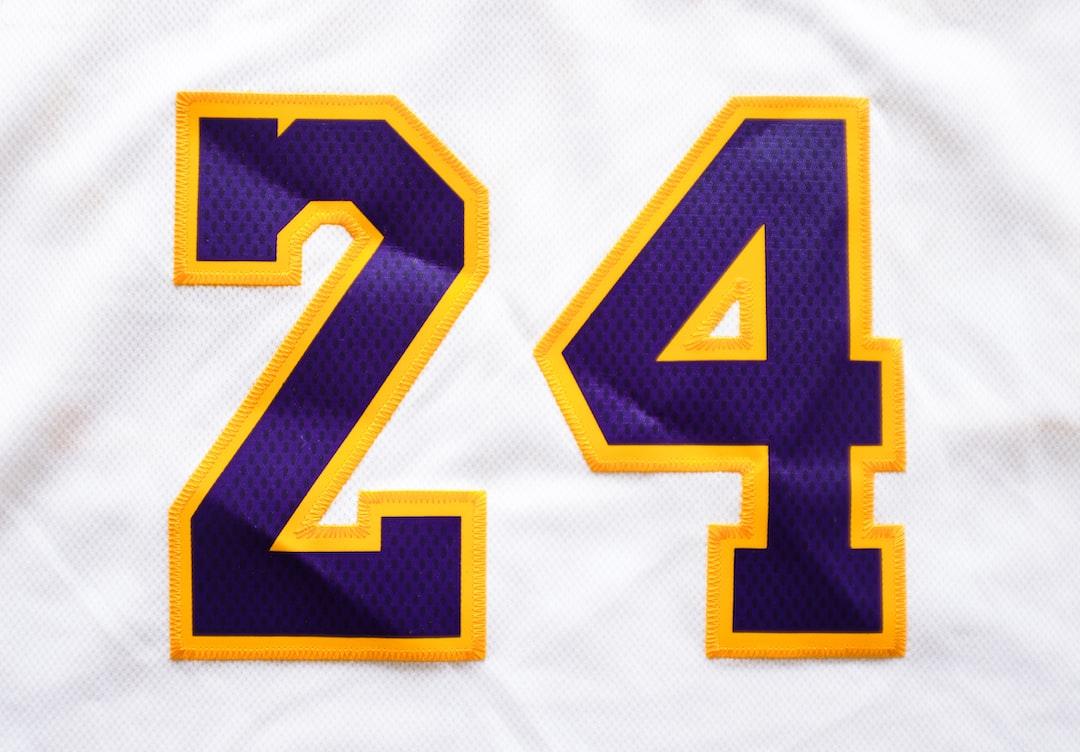Lakers Kobe Bryant Jersey #24  photo Taken By @charlesdeluvio - unsplash