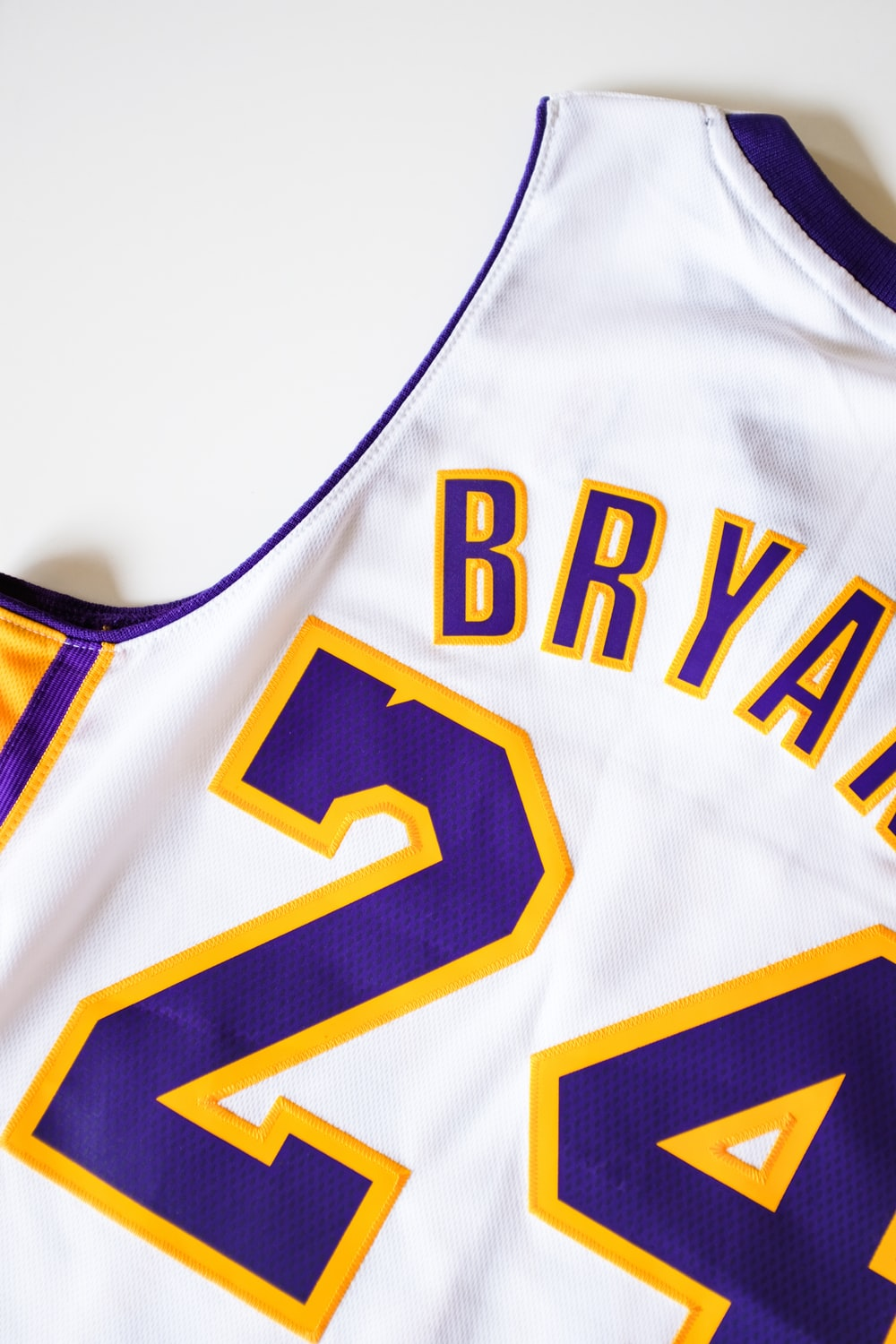 Kobe Bryant, Lakers NBA jersey #24