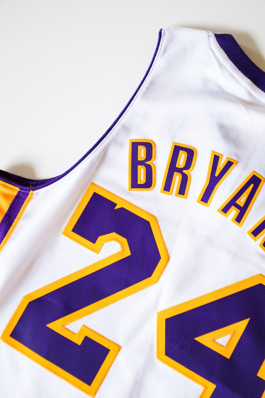 Kobe Bryant, Lakers NBA jersey #24