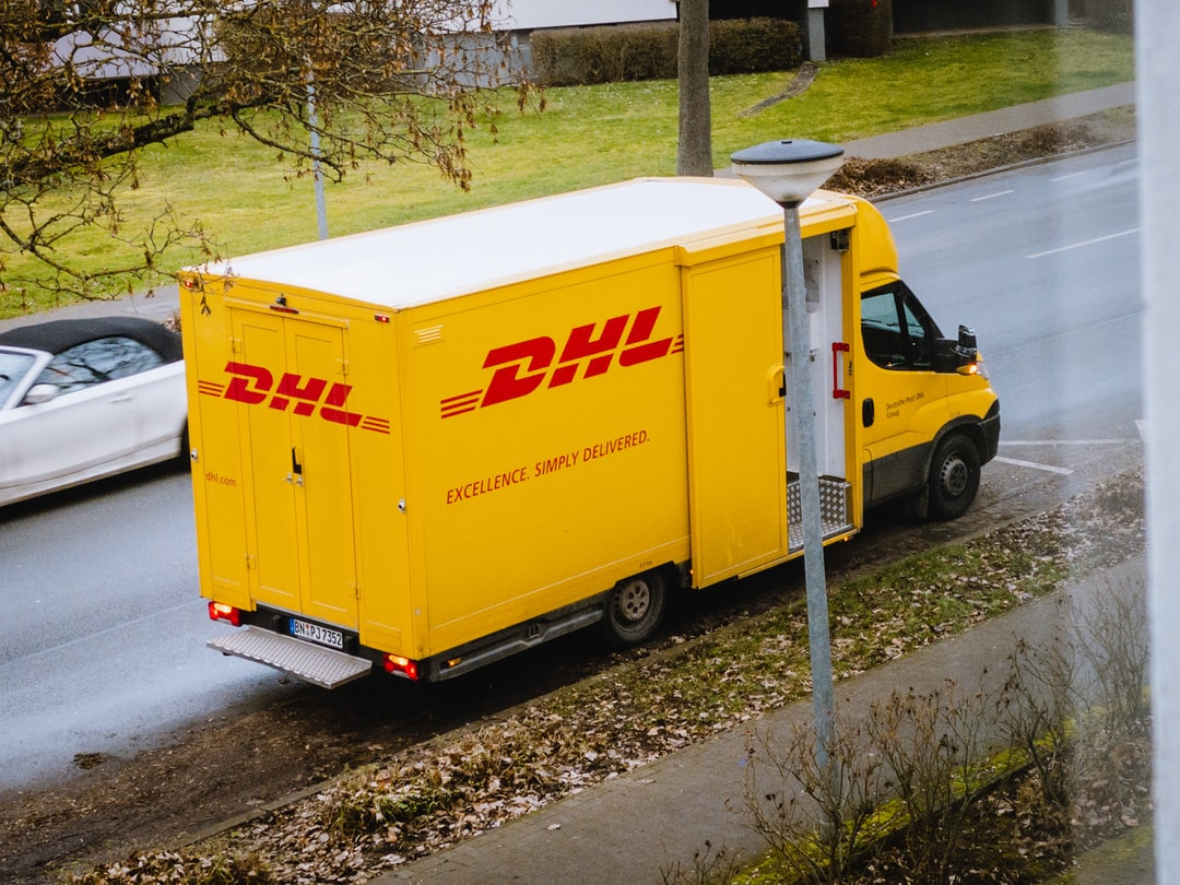 """""""DHL Germany - Delivery Vehicle"""""""