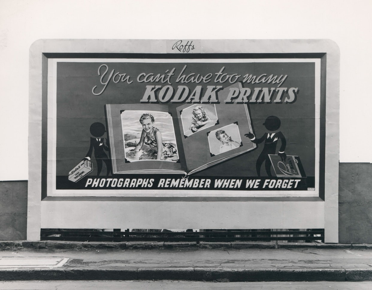 old print advertising