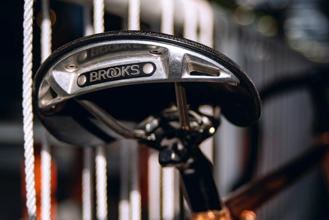 Bike saddle, at Piet Hein Eek (Dutch Designer)