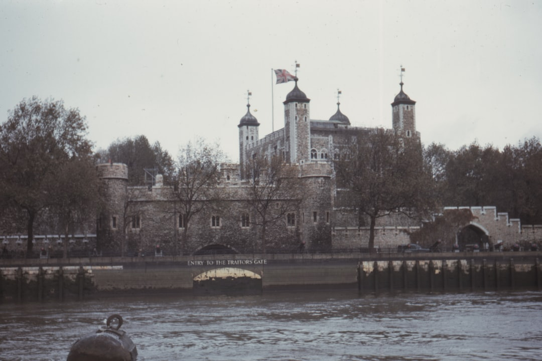 1961, the Tower and Traitors Gate, London