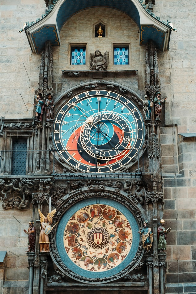 Prague Astronomical Clock, Old Town Square, Old Town, Czechia