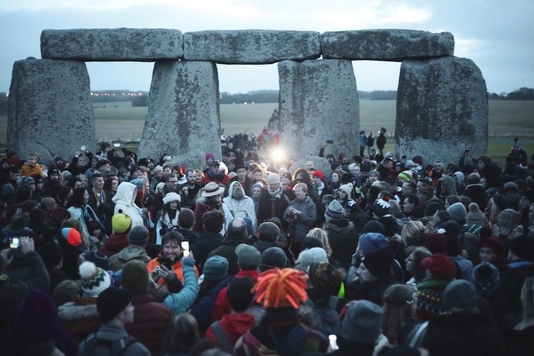 2019 Winter Solstice celebration before sunrise.