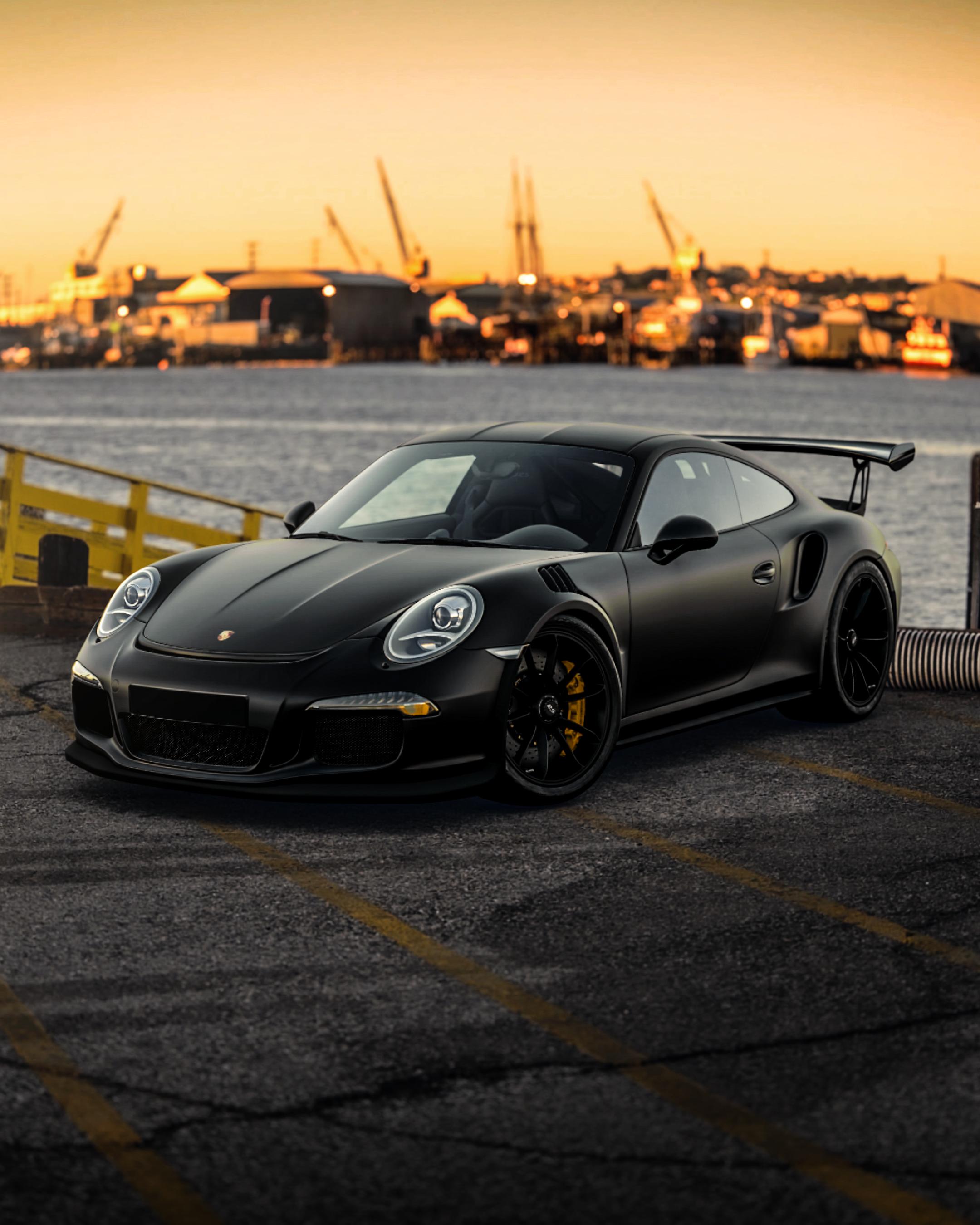 Black Porsche 911 On Road During Daytime Photo Free Automobile Image On Unsplash