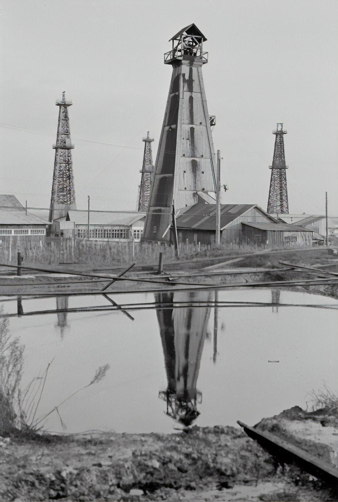 Ölförderung. 1935