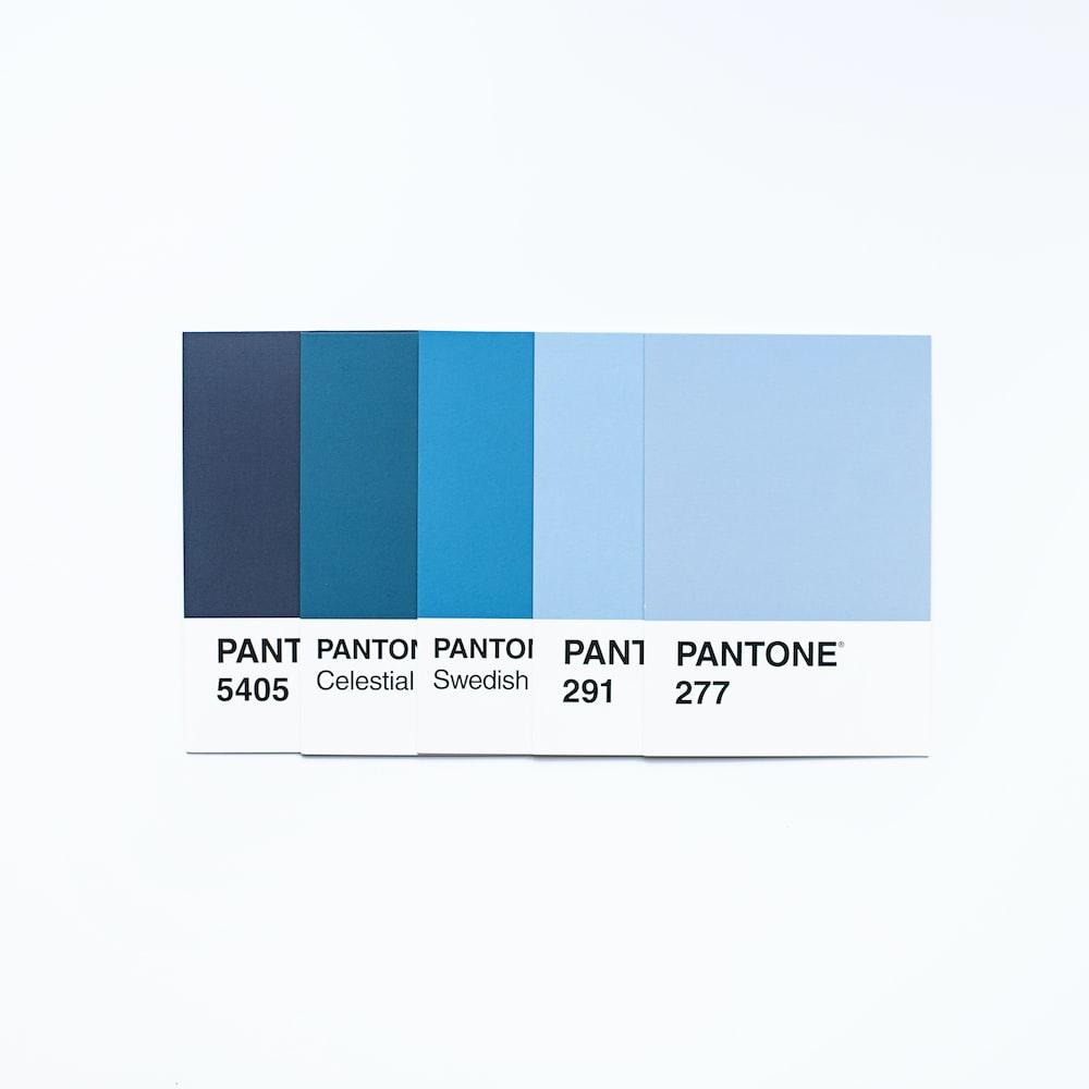 blue and black rectangular frame
