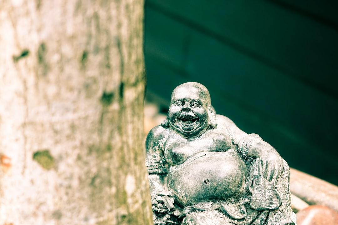 A very happy Buddha.