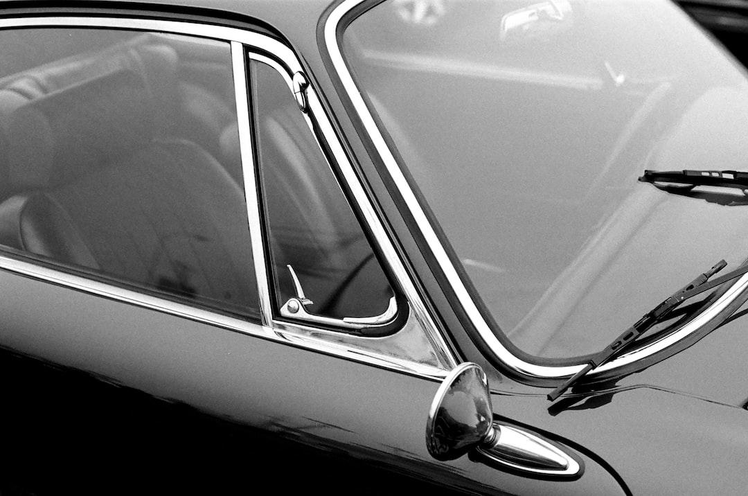 An Old Porsche Shot On Kodak Tri-X 400. - unsplash