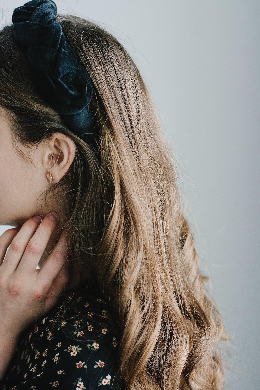 Украшение для волос своими руками в винтажном стиле