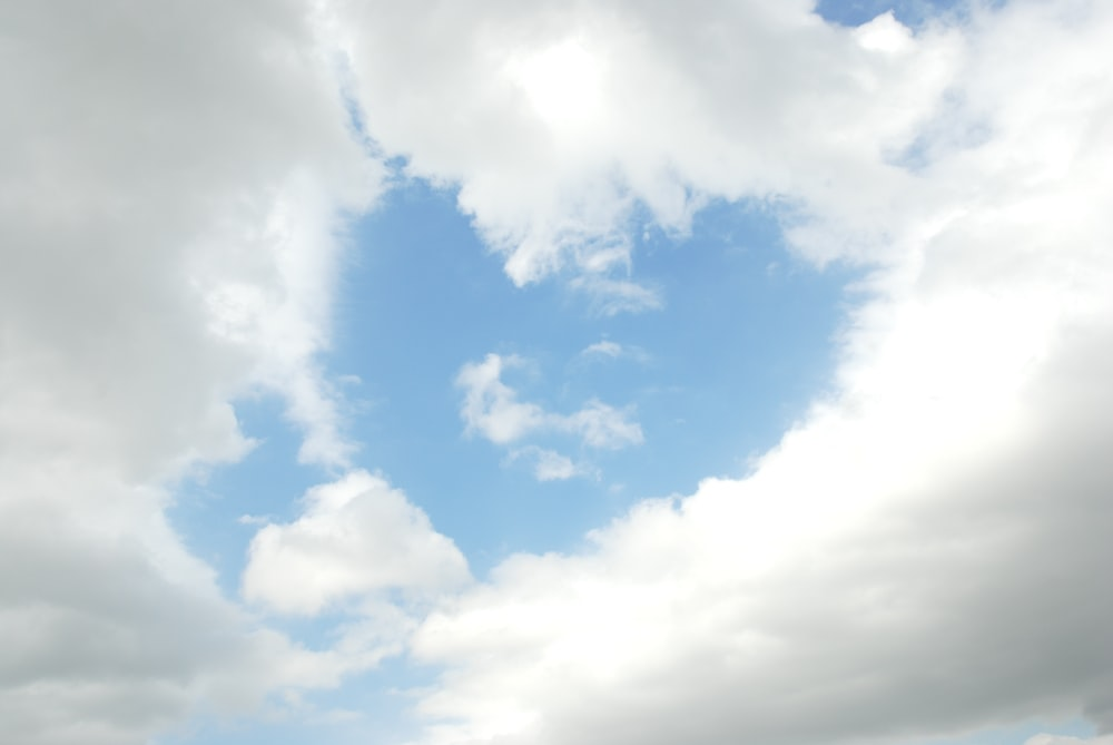 white clouds and blue sky during daytime