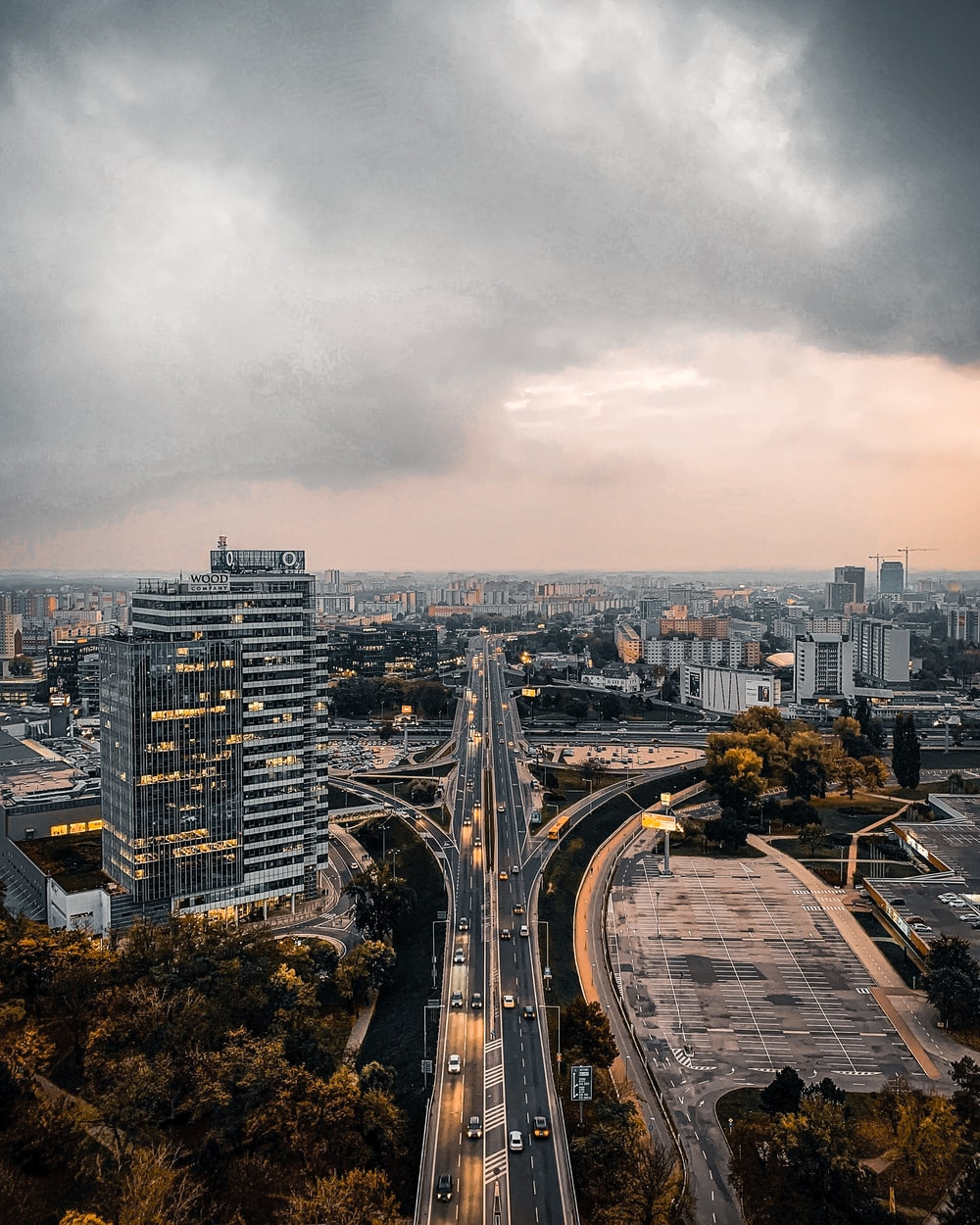city buildings under gray sky during daytime