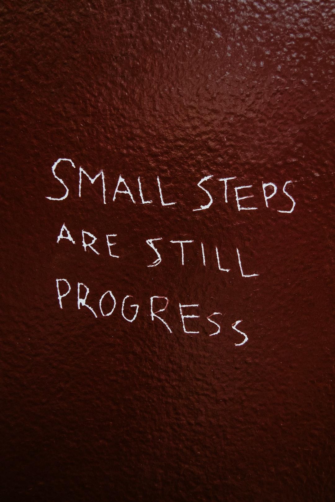 on forward progress