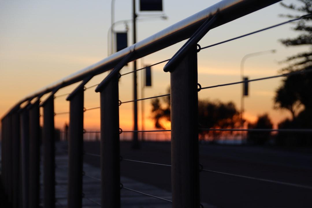 sunrise on the Kirra boardwalk