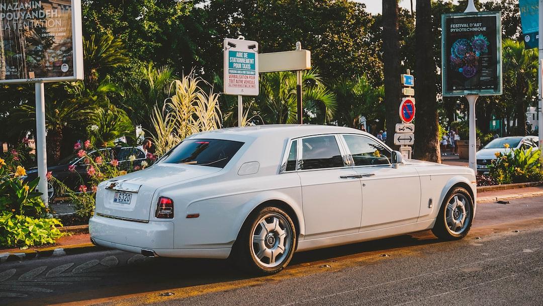Rolls Royce in Cannes