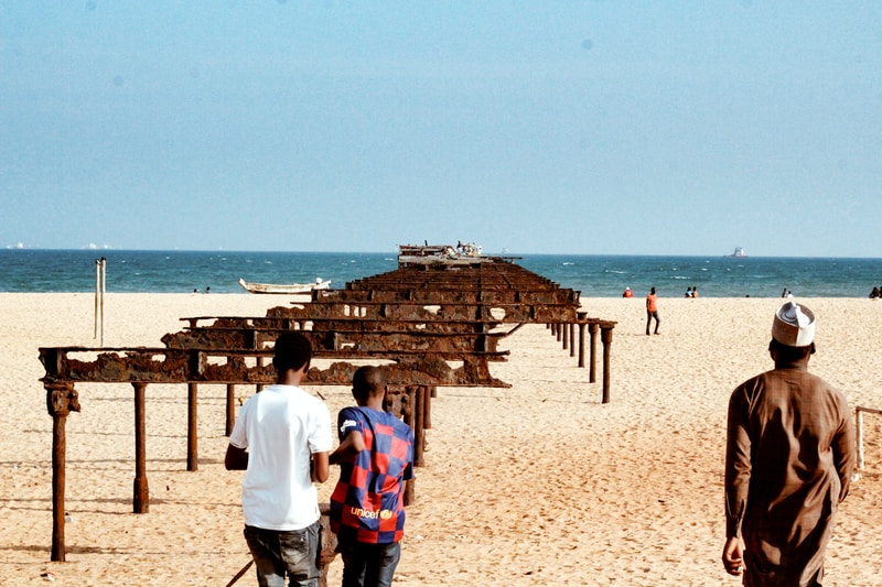 Coldest places in Togo by minimum mean temperature