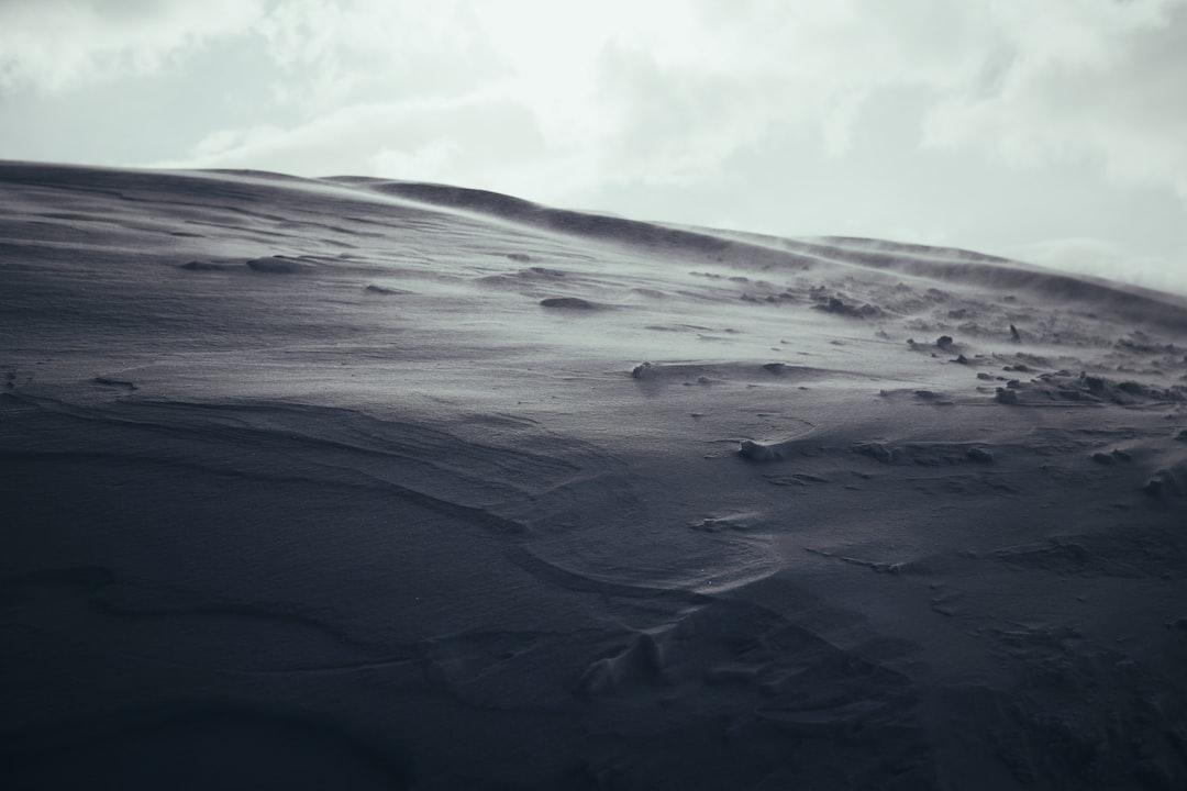 White Sand Under White Clouds During Daytime - unsplash