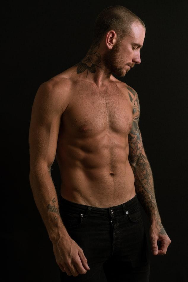 man-upper-body