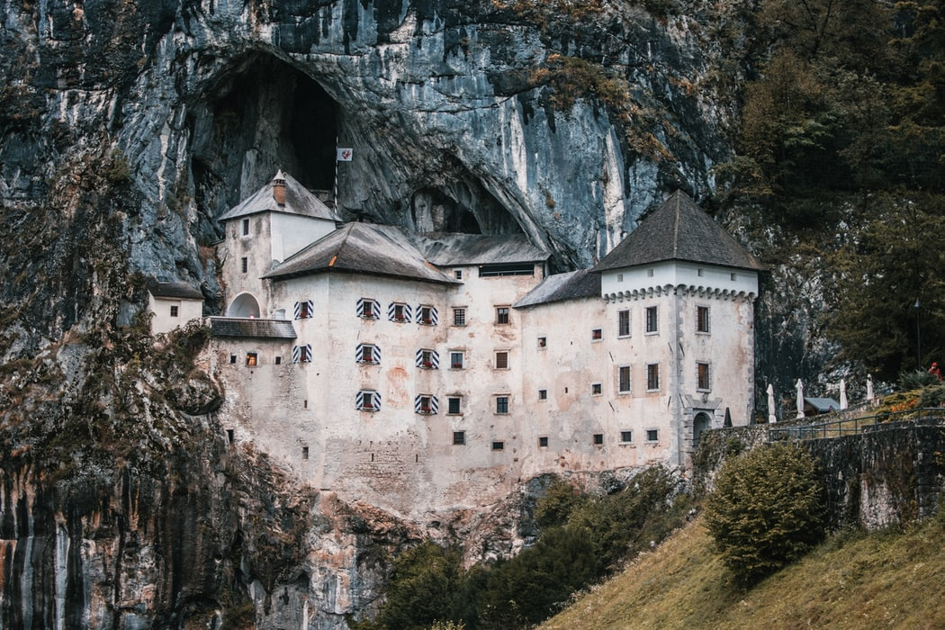 Predjama Castle in Europe