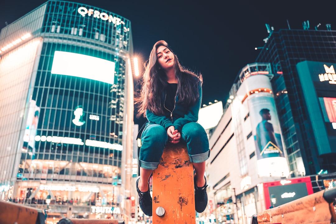 Girl In the Shibuya Tokyo - unsplash