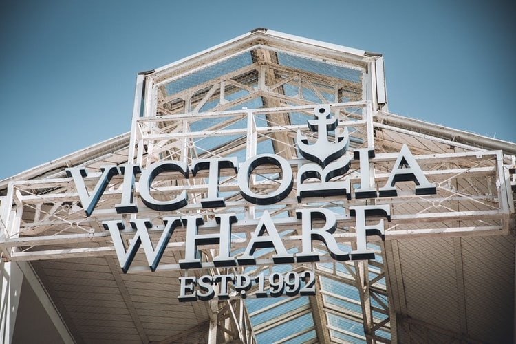 Victoria Wharf on the V & A Waterfront, Cape Town, South Africa