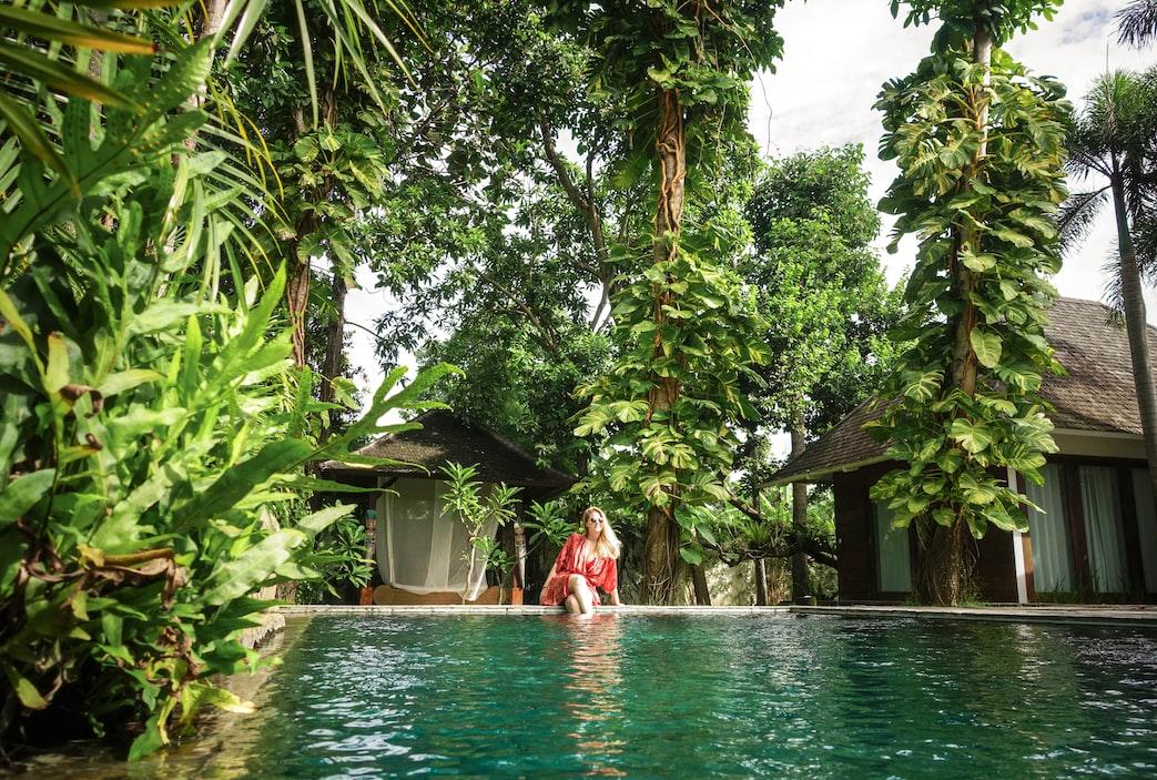 water garden hotel Bali
