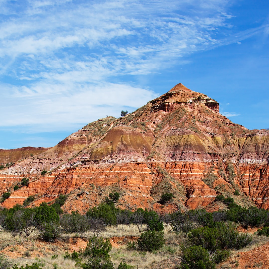 Palo Duro Canyon, Texas  This miniature version of the Grand Canyon is just South of Amarillo Texas.