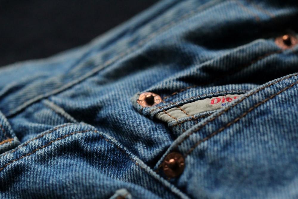 blue denim button up jacket