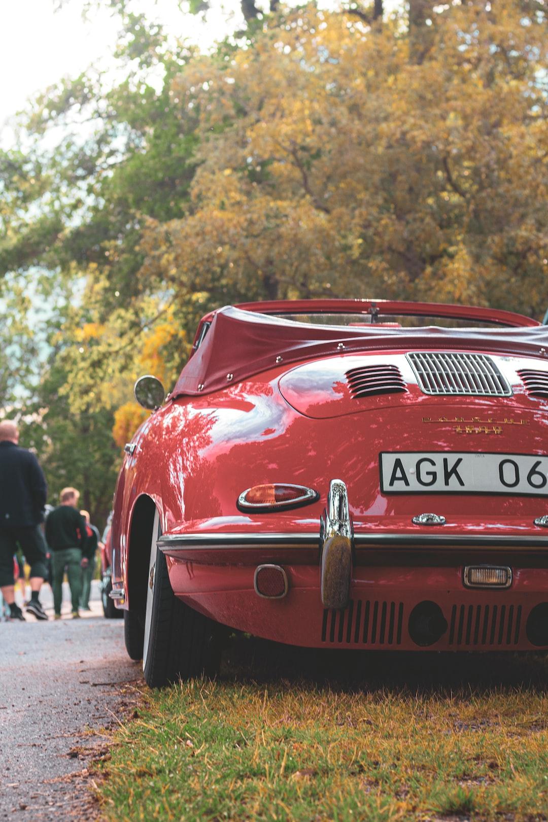Parked Porsche 911