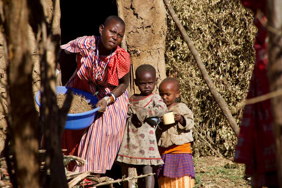 Maasai boma, Tanzania