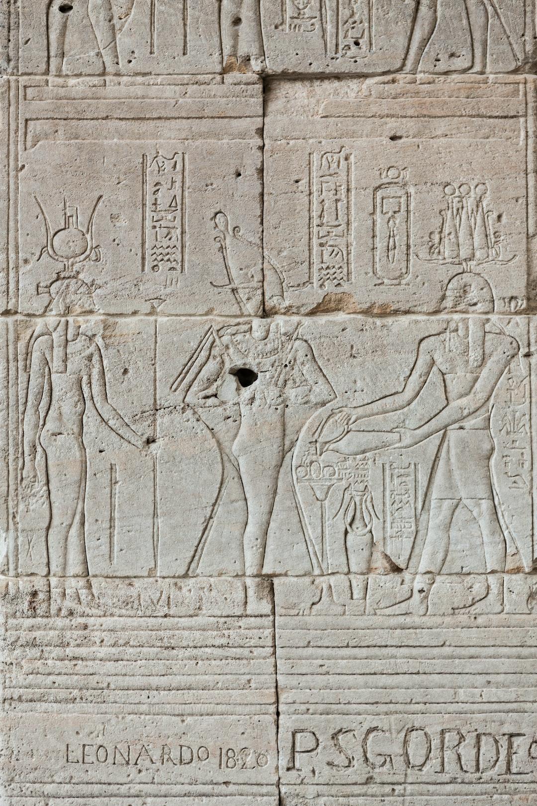 The Temple of Dendur, displayed in the Met Museum.