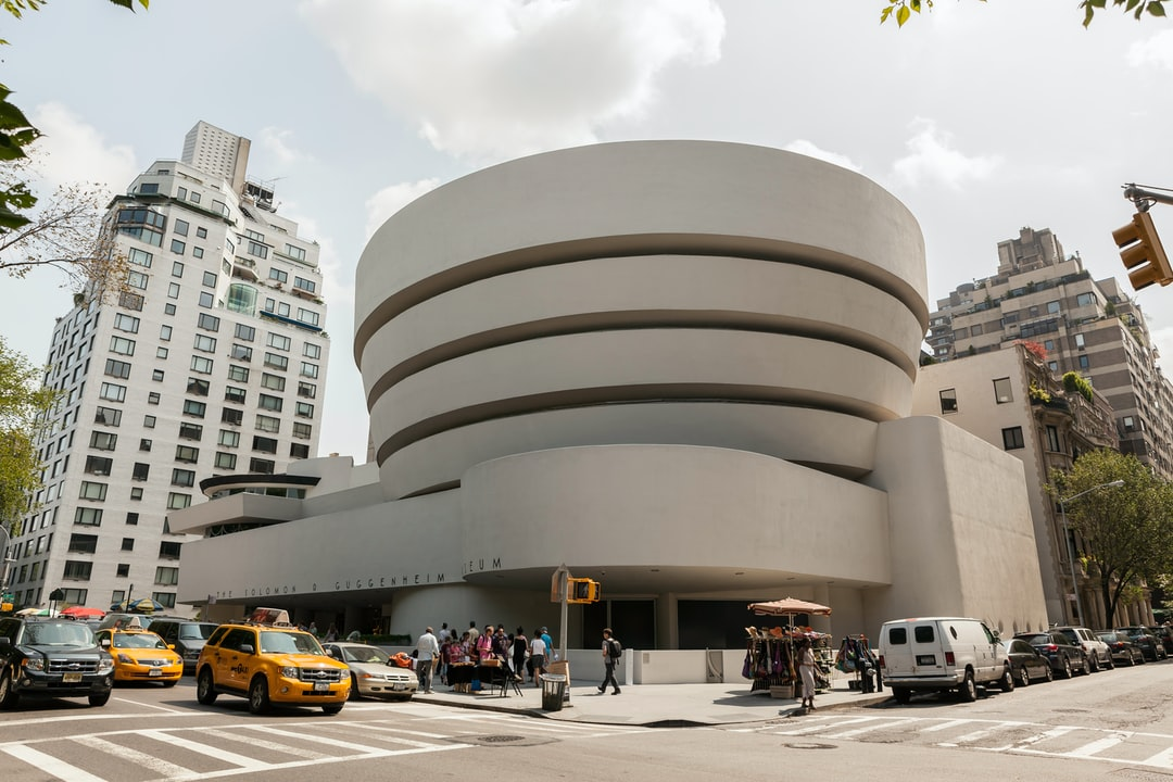 The Guggenheim Museum in New York City.