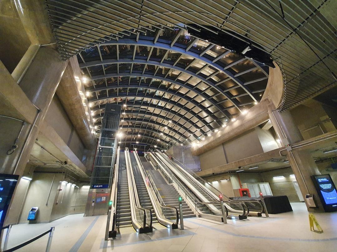 Starway of Brooklin Metro at São Paulo