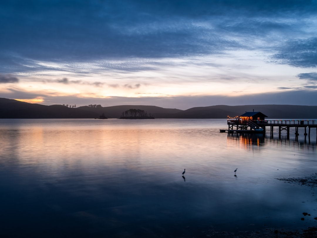 Sunset At Nick's Cove On Tomales Bay - unsplash