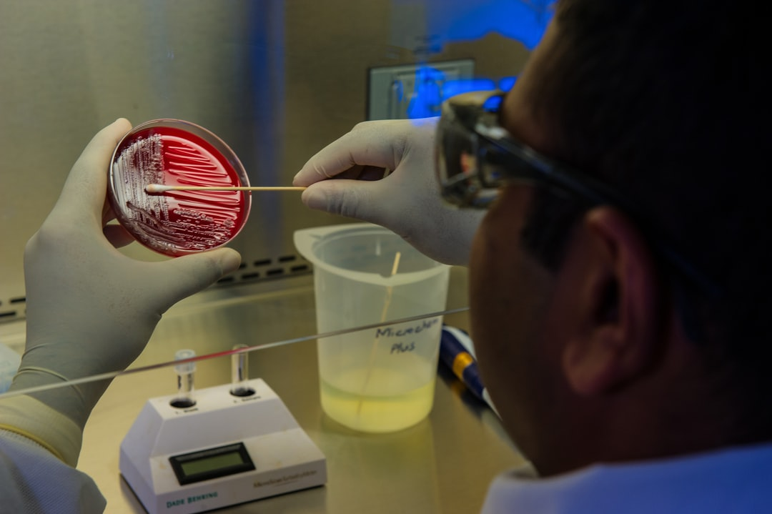 This photograph depicted an Enteric Diseases Laboratory Branch (EDLB) public health scientist, preparing foodborne bacteria for a DNA fingerprinting test.
