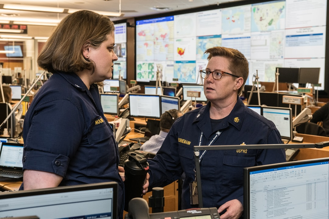 The Centers for Disease Control and Prevention (CDC) Emergency Operations Center (EOC) is where highly trained experts monitor information, prepare for public health events, and gather in the event of an emergency to exchange information, and make decisions quickly.