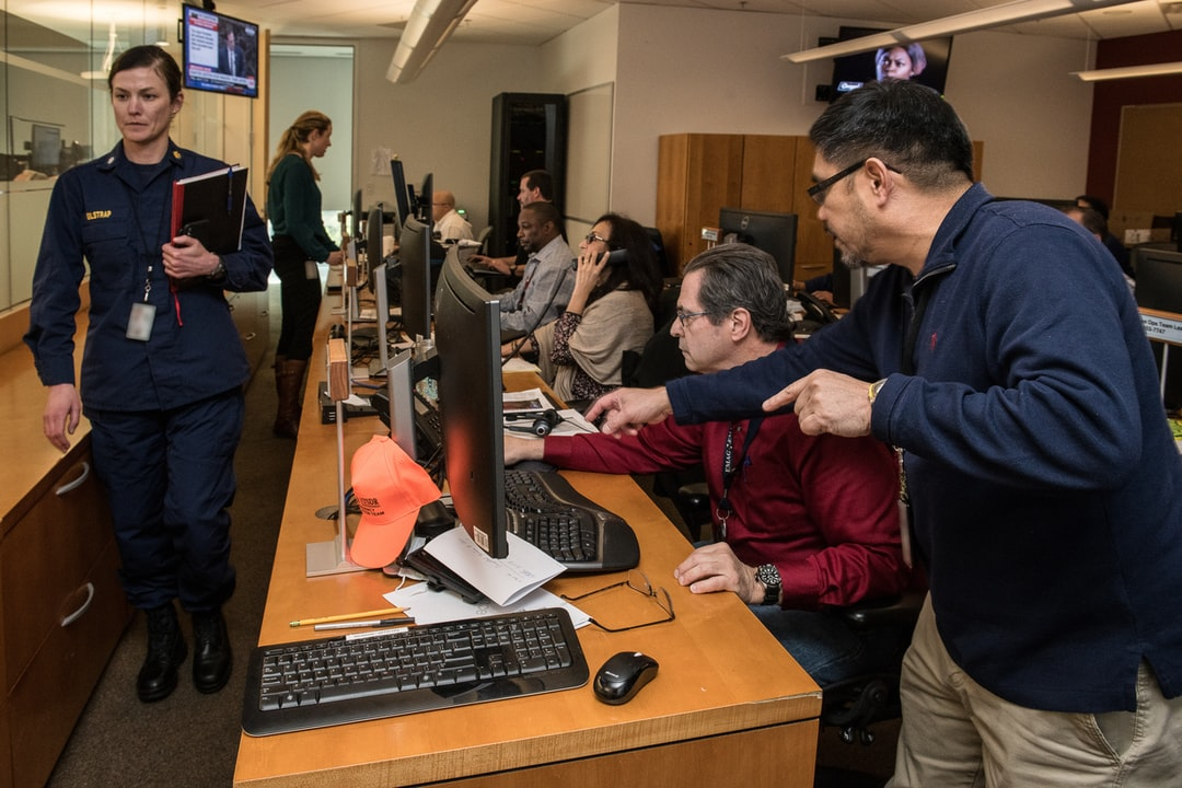 Outbreak response in action: Centers for Disease Control and Prevention (CDC) staff support the 2019 nCoV response in the CDC's Emergency Operations Center (EOC).