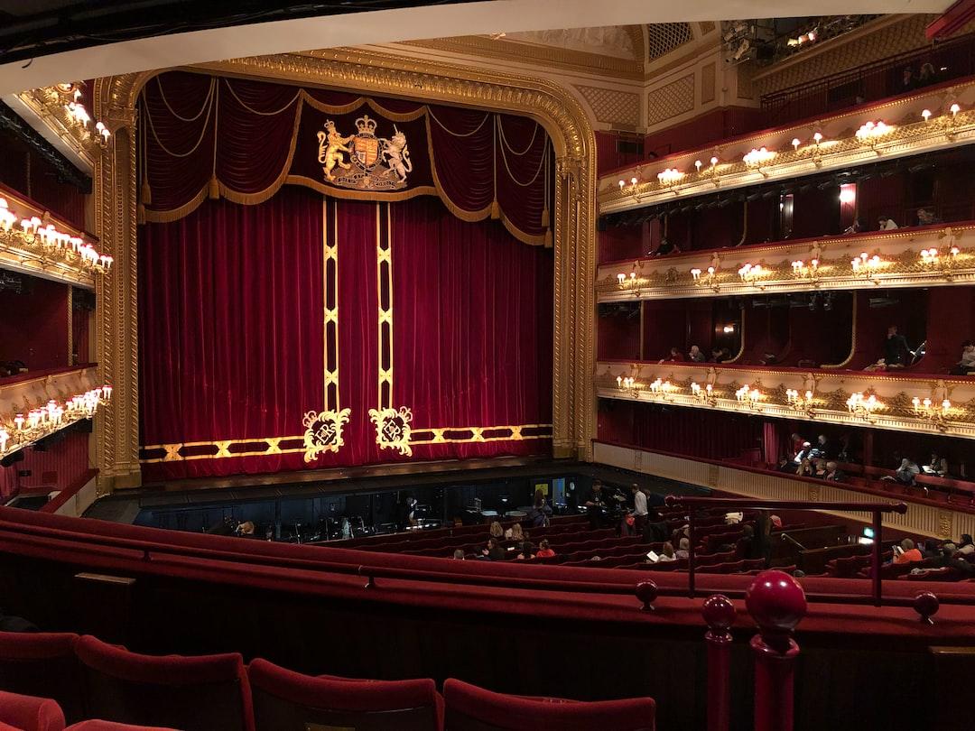 Royal Opera House, London, stage