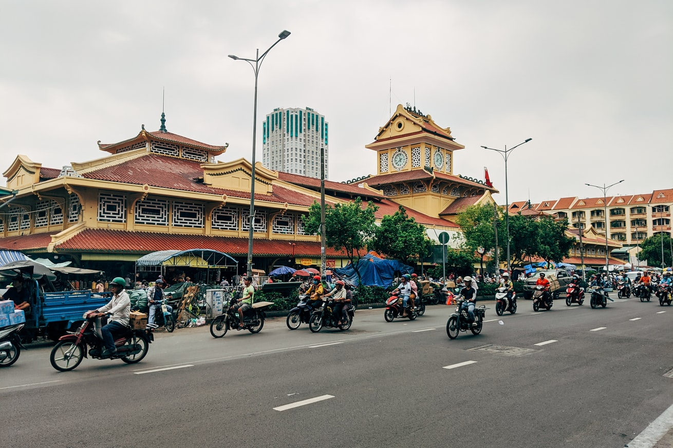 Ben Thanh Market is a popular destination for Malaysian tourists. It sits across Malaysian Street (An Ninh Street)