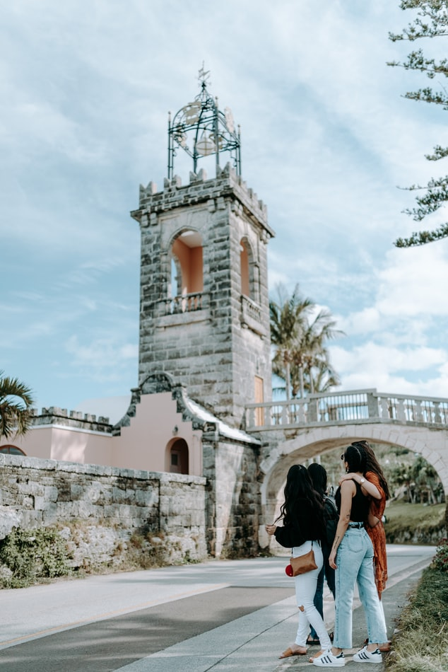 An old tower in Bermuda