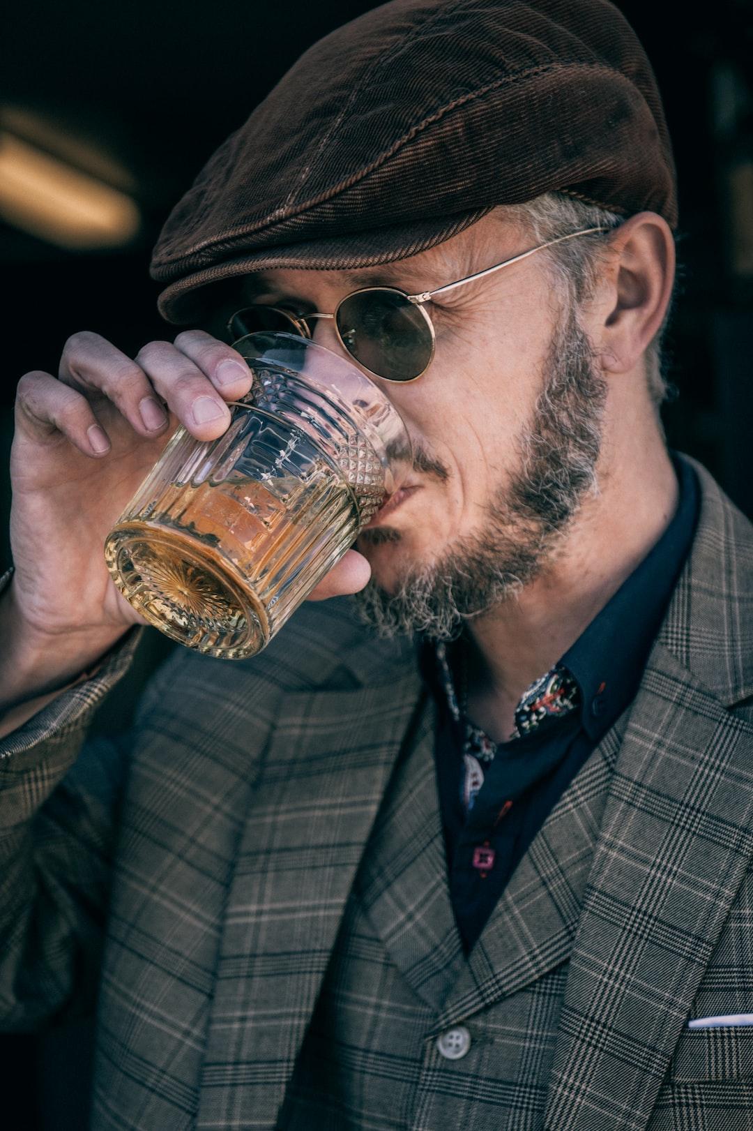 Owner of Gentlemen's Breakfast, Van de la Plante. Drop in for custom vintage eyewear and enjoy free scotch and cigars.