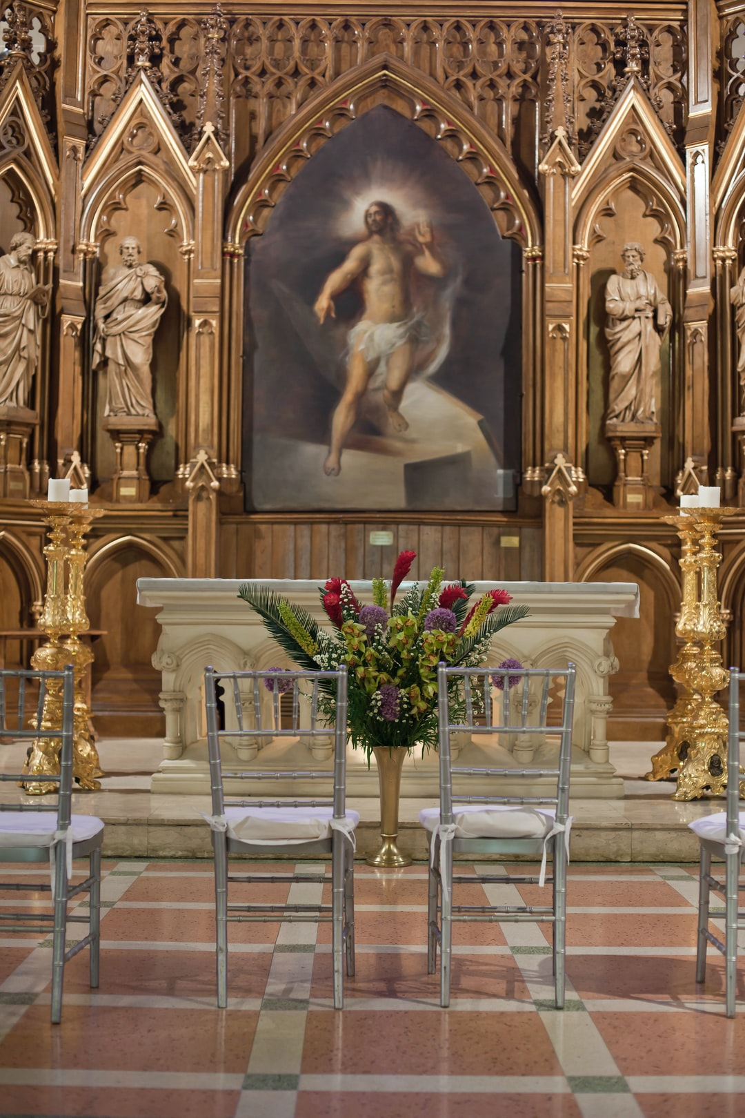 This is in this cathedral that the baptism scene from the Godfather, Part 1 has been shot.