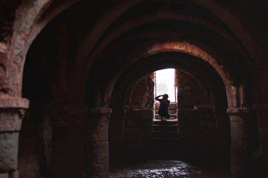 Portuguese Castle's Church located in Hormuz Island south of Iran
