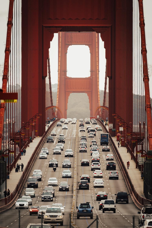 brown and white bridge during daytime