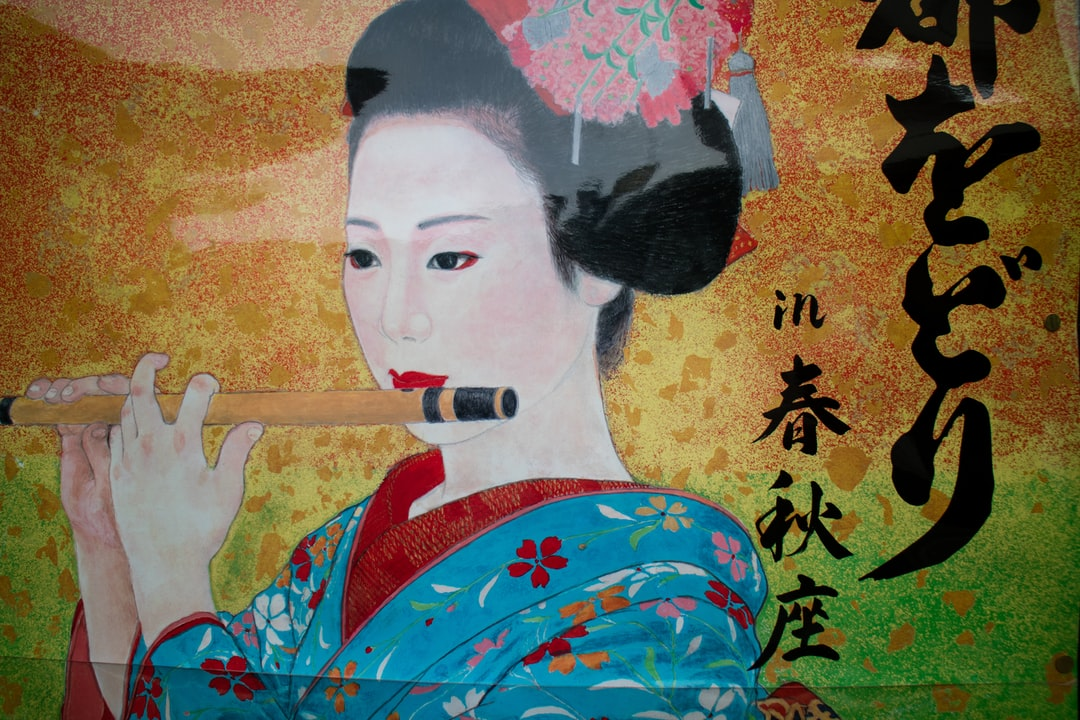 Geisha in Gion. Support my work at PayPal.me/travelingwithkristin